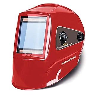 Stürmer Schweißkraft 1654020 Schweißkraft Automatik-Schweißschutzhelm, mit 4 Sensoren, 379 und EN 175, Solarzellenbetrieb-1654020