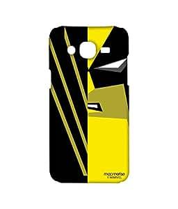 Licensed Marvel Comics Wolverine Premium Printed Back cover Case for Samsung On7 Pro