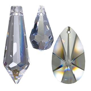 30tlg Regenbogenkristall Set Crystal 30% PbO~ Feng Shui Lüsterbehang Kronleuchter Lüster