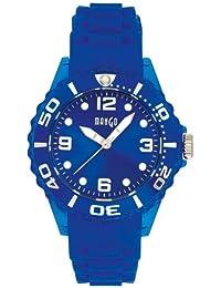 Mango A68332-1B8KV - Reloj para mujeres, correa de goma color azul