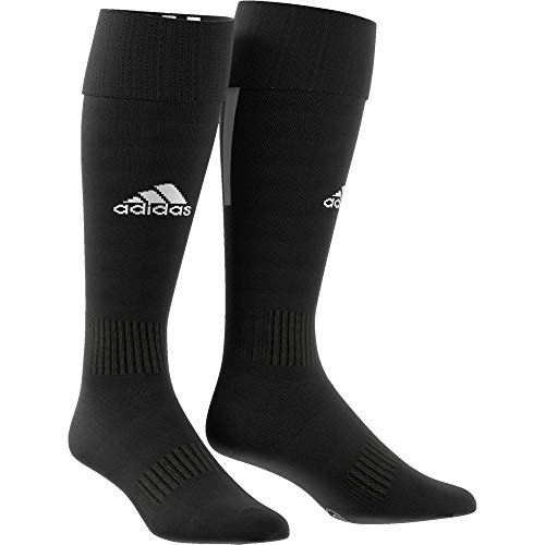 adidas Kinder Santos 18 Socken, Black/White, EU 34-36