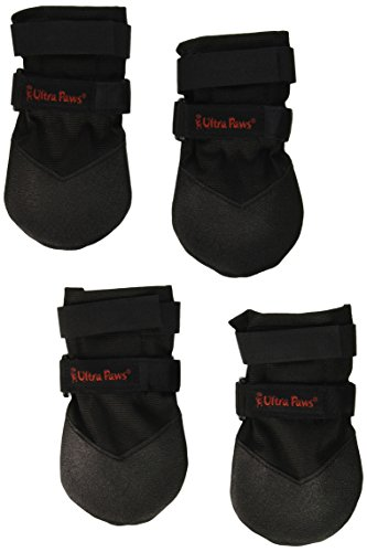 Ultra Paws Durable Dog Boots Black Medium by Ultra Paws