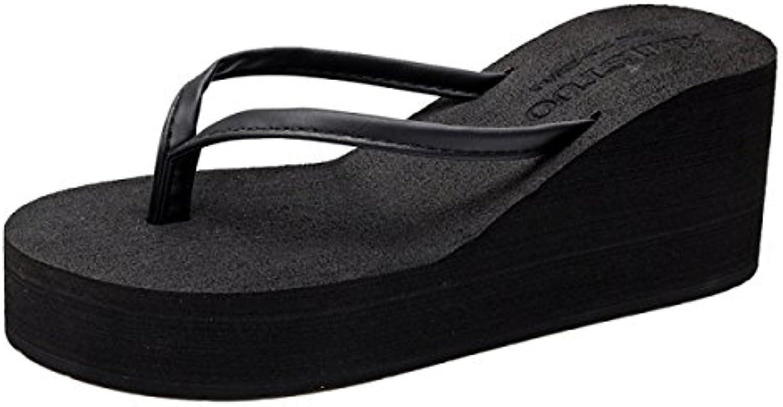 gshga summer kaka kaka kaka sangle talon tongs fashion beach antidérapantes, sandales et pantoufles 025c56