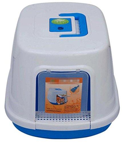fsosoo-lettiera-animale-domestico-gatto-lettiera-vassoio-igienici-box-facile-pulito-completamente-ra
