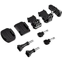 GoPro AGBAG-002 - Kit de repuestos para monturas de cámara GoPro, Color Negro