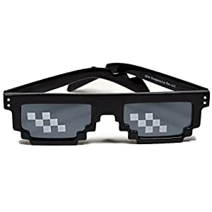 Deal With It Glasses | Thug Life Pixelated 8 Bit Mlg Internet Meme Sunglasses