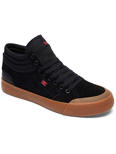 DC Shoes Evan Smith Hi S - Chaussures de Skate Montantes Pour Homme ADYS300380 Black/gum