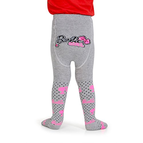 Barbie Knitted Baby Tights by Bonjour (02 (2-4 Years), Lt.Grey Mill)