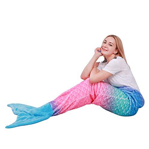 Manta de Cola de Sirena para Adultos