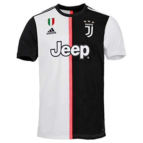 JUVENTUS Maglia Ronaldo Gara Home Ufficiale Nuova Stagione 2019/2020 - Uomo - 100% Originale - Patch Scudetto Sempre Inclusa - Taglia M