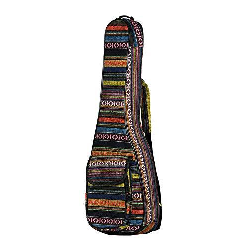 Lopbinte 21-Zoll Ethnisch Stil Einstellbare Ukulele Tasche