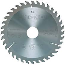 Hitachi - 752466 - Disco para sierra circular e ingletadora 255x2,5x1,8 mm eje 30 mm 24 dientes para madera