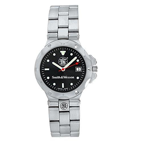 reloj-smith-wesson-acero-reloj-negro-swiss-made