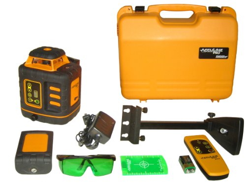 Johnson Level and Tool 40-6543 Self-Leveling Rotary Laser Level with GreenBrite Technology by Johnson Level & Tool (Rotary Laser Level Kit)