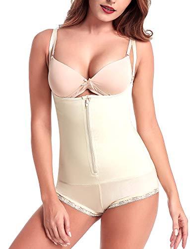 Donna body snellente aperto busto shapewear corsetto bustino shaper intimo modellante