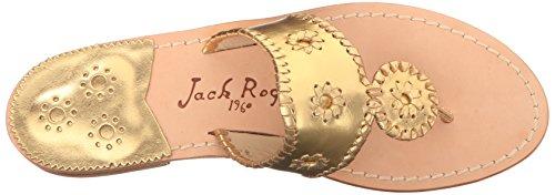 Jack Rogers Hamptons, Sandales femme Or - doré