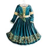 Disney - original Costume /robe - Déguisement Merida de Rebelle pour enfant - taille 5 - 6 années