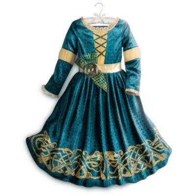 zessin Merida - Legende der Highlands - Kostümkleid für Kinder - 5 - 6 Jahre ()