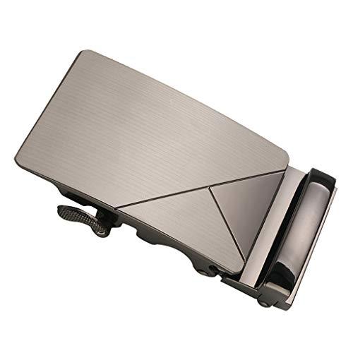 Baoblaze Hebilla de Cinturón de Trinquete Rectangular Cierre Automático para Hombre 35mm - #4, tal como se describe