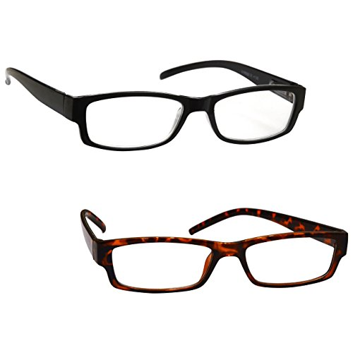 the-reading-glasses-company-black-brown-tortoiseshell-lightweight-2-pack-designer-style-mens-womens-