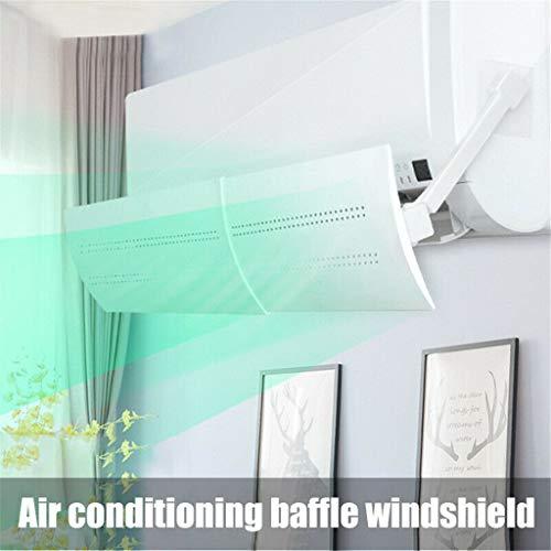 Hukz Einziehbarer Klimaanlage Windschutzscheibe, Universal Klimageräte Windabweiser Einstellbare Air Conditioning Baffle Windshield, Anti Direct Blowing, 57x3x18CM -