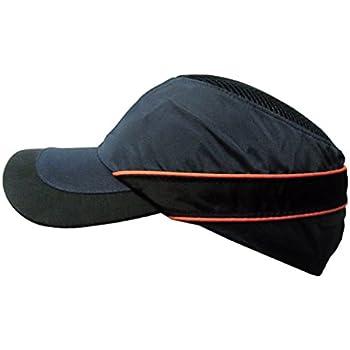D DOLITY Casque de S/écurit/é Chapeau de Protection de T/ête avec Coque en Plastique Bleu marine