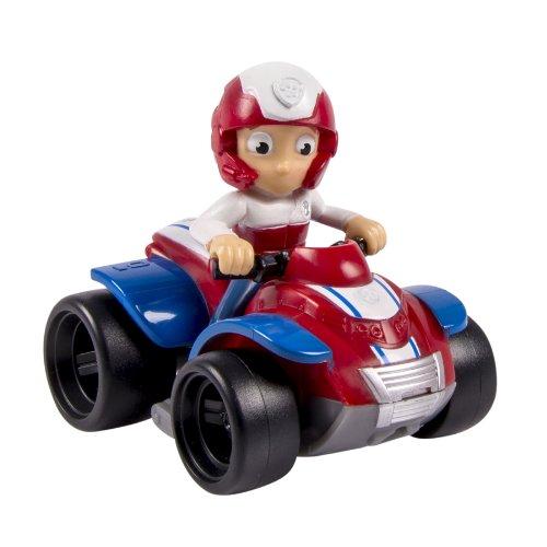 uf dem Quadbike - Mini Fahrzeug 9 cm ()