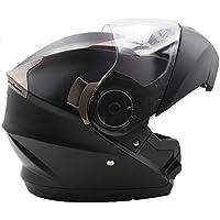 Nat Hut Casco Moto Modular ECE Homologado Casco de Moto Scooter para Mujer Hombre Adultos con