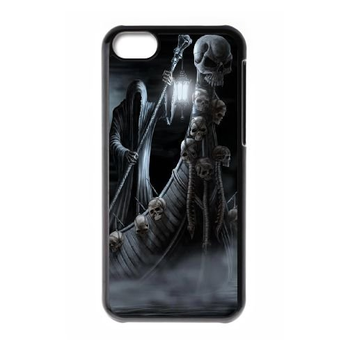 Dark Souls coque iPhone 5C Housse téléphone Noir de couverture de cas coque EBDXJKNBO15210