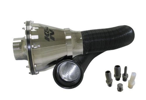 Kn RC-5052AS Air Intake System K & N Apollo Universal-Cis, 70 mm Od FLG, Chrome Pp (K N Air Intake System)