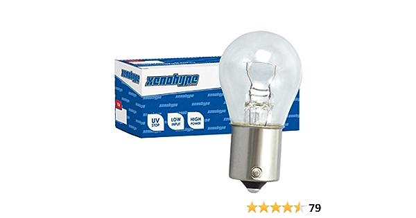 10x P21w Xenohype Premium Ba15s 12 V 21 Watt Kugellampe Auto