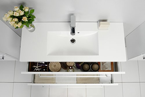 Quentis Waschplatz Set Genua 100 2 Teilig Waschbecken Und