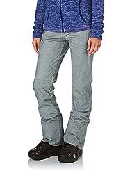 Roxy Snow Pants - Roxy Torah Bright Snow Pants - Grey Marl Textured/Heather Grey
