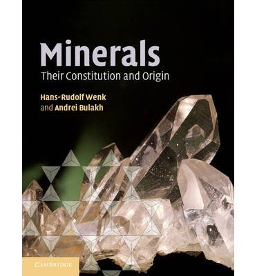 [ MINERALS THEIR CONSTITUTION AND ORIGIN BY BULAKH, ANDREI](AUTHOR)PAPERBACK