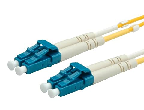VALUE LWL-Kabel 9/125µm LC/LC gelb