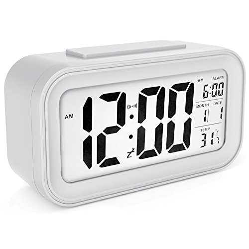 sin&mi - Alarm Clock Large LED D...
