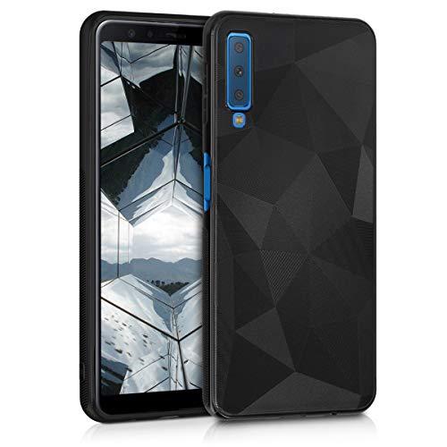 kwmobile Samsung Galaxy A7 (2018) Hülle - Handyhülle für Samsung Galaxy A7 (2018) - Handy Case in Schwarz