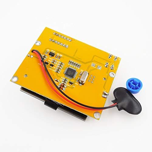 Preisvergleich Produktbild Tragbare HW-308 ESR-Meter Transistor Tester Digital 12864 LCD-Bildschirm Tester Tragbare elektrische Instrumente mehrfarbig HW-308-2