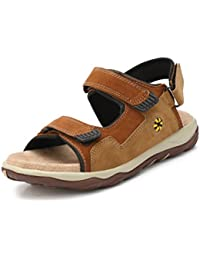 Fucasso Men's Synthetic Brown Tan Outlander Sandals