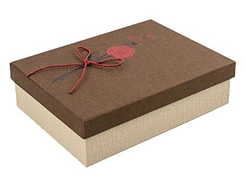 Geschenk-Box mit Deckel für Hochzeit Geburtstage, Braut-und Baby-Duschen