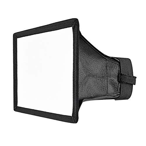 Neewer Softbox traslucido per flash Canon, Nikon e altre fotocamere DSLR, dimensioni: 15x 12,5cm