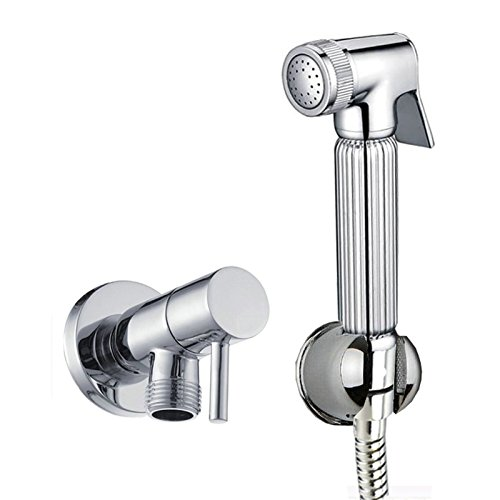 Enki Handheld Messing WC-BAD Bidet doushe Dusche Head Spray Nozzle Set