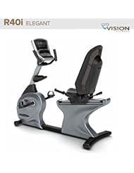 R40i Elegant Vision Fitness Halbliegeergometer - Fahrradtrainer - Ergometer