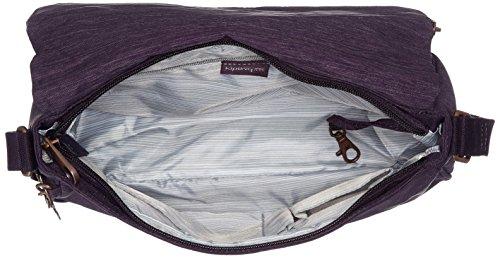 Kipling Earthbeat M, Borsa a Tracolla Donna, Taglia Unica Viola (Spark Aubergine)