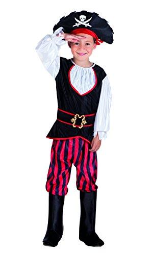 rkostüm Pirat Tom, schwarz (Seemann-kostüm Für Jungen)