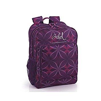 Gabol-Mochila Adaptable Escolar Gabol Silk. Color: Morado