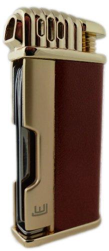 Hochwertiges Pfeifenfeuerzeug Gold mit Stopfwerkzeug 222050