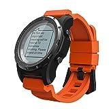 Smartwatch, GPS Herzfrequenz, Luftdruck Laufen, Wandern, Mountain Golf, Multi-Function Male Smart Watch,Red