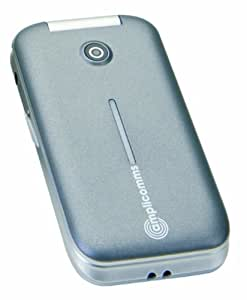 Amplicomms PowerTel M7000 Téléphone portable Bluetooth Argent