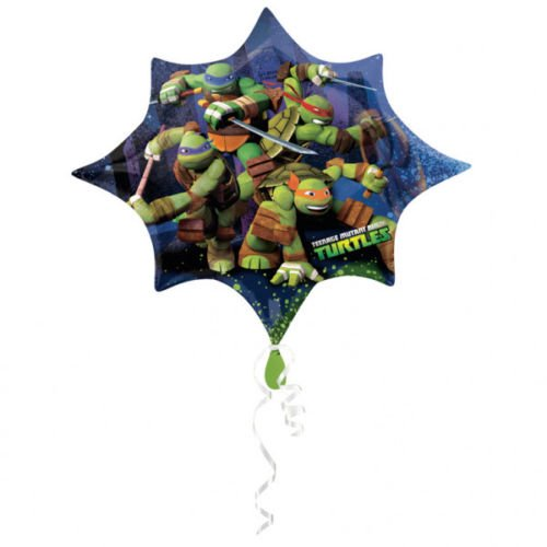 ant Ninja Turtles ca. 80cm Luftballons Folienballon Party DekorationGeburtstag ()